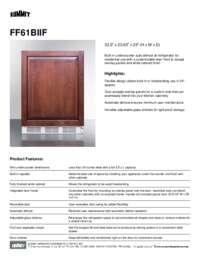 Brochure FF61BIIF