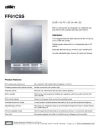 Brochure FF61CSS