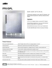 Brochure FF61DPL