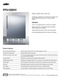 Brochure FF61SSHV