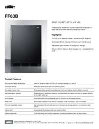 Brochure FF63B