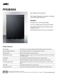Brochure FF63BADA