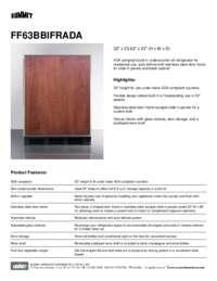 Brochure FF63BBIFRADA