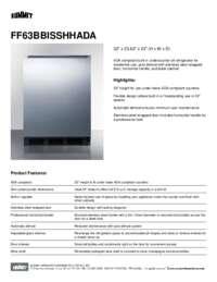 Brochure FF63BBISSHHADA