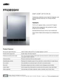 Brochure FF63BSSHV