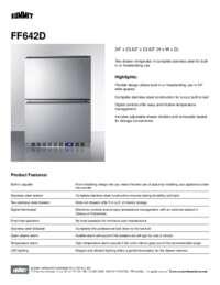 Brochure FF642D