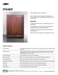 Brochure FF64BIF