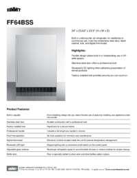 Brochure FF64BSS