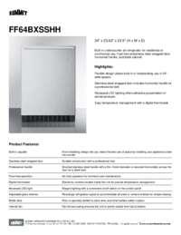 Brochure FF64BXSSHH