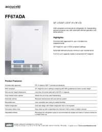 Brochure FF67ADA