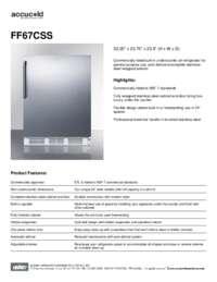 Brochure FF67CSS