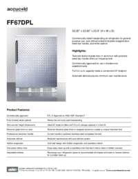 Brochure FF67DPL