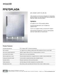 Brochure FF67DPLADA