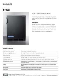 Brochure FF6B