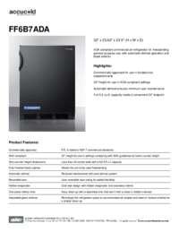 Brochure FF6B7ADA