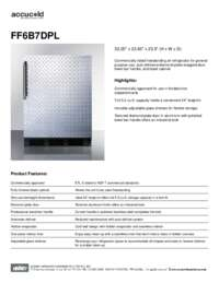 Brochure FF6B7DPL