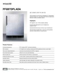 Brochure FF6B7DPLADA