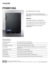 Brochure FF6BBI7ADA