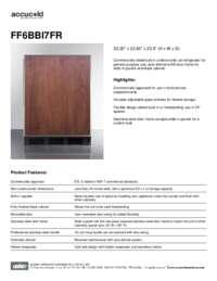 Brochure FF6BBI7FR