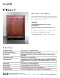 Brochure FF6BBI7IF