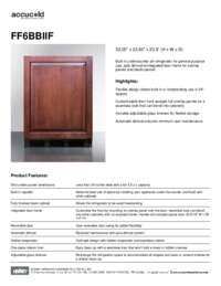 Brochure FF6BBIIF