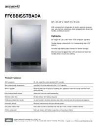Brochure FF6BBISSTBADA
