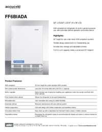 Brochure FF6BIADA