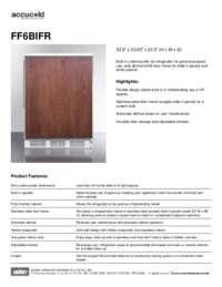 Brochure FF6BIFR