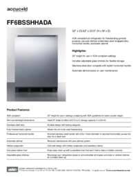 Brochure FF6BSSHHADA