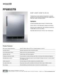 Brochure FF6BSSTB
