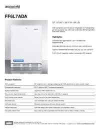 Brochure FF6L7ADA