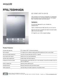 Brochure FF6L7SSHHADA