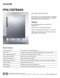 Brochure FF6L7SSTBADA