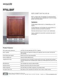 Brochure FF6LBIIF
