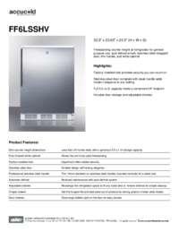 Brochure FF6LSSHV