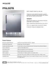 Brochure FF6LSSTB
