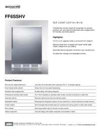 Brochure FF6SSHV
