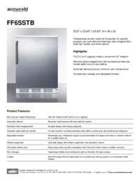 Brochure FF6SSTB