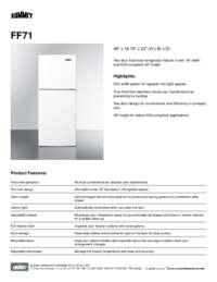 Brochure FF71