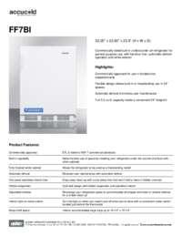 Brochure FF7BI