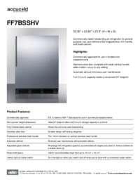Brochure FF7BSSHV