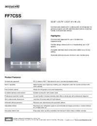 Brochure FF7CSS