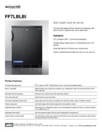 Brochure FF7LBLBI