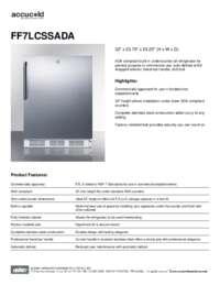 Brochure FF7LCSSADA