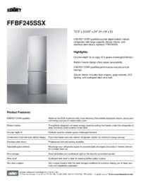 Brochure FFBF245SSX