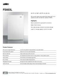Brochure FS603L