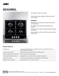 Brochure GC424BGL
