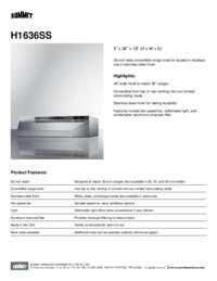 Brochure H1636SS