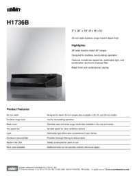 Brochure H1736B