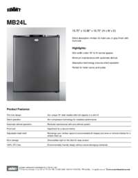 Brochure MB24L